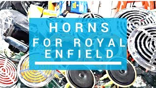 Horns For Royal Enfield