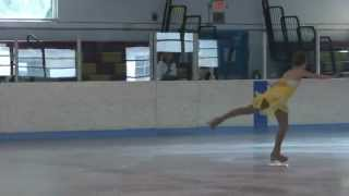 preview picture of video 'Sarah Grapek Novice Solo Freedance Skate Wilmington 2012'