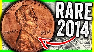 VERY RARE 2014 PENNY WORTH MONEY - LOOK FOR THESE ERROR COINS IN YOUR POCKET CHANGE!!