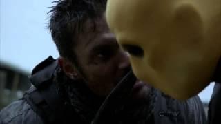 "Сериал ""Стрела"", Slade Wilson vs. Bill Wintergreen- Arrow Episode 15"