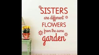 SISTER Quotes,Best Funny And Emotional