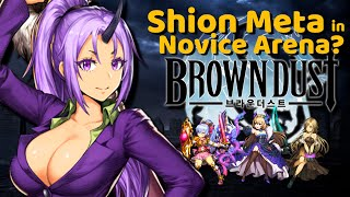 Shion  - (That Time I Got Reincarnated as a Slime) - Shion Meta in Novice Arena? Back to That Time I Got Reincarnated as a Slime【Brown Dust/ブラウンダスト/棕色塵埃】