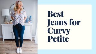 BEST JEANS FOR CURVY PETITE | TRY ON HAUL | Laura-Lee