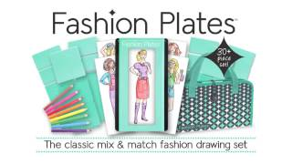 Fashion Plates  Deluxe Design Set And Expansion Sets