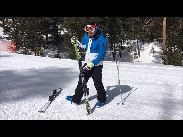 Serkan Hoca Kayak Dersi 1/11(Kayak Malzemelerini Tanıma, Başlangıç ve Yürüme) (ULUDAĞ)