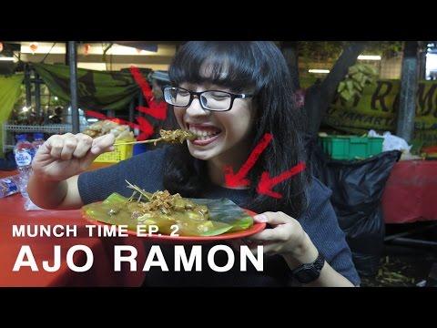 Video Munch Time #2: Sate Padang Ajo Ramon | Indah Sagala????
