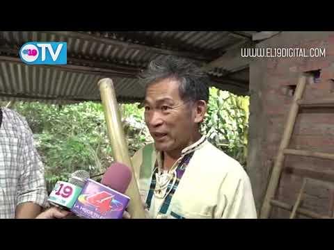 Experto en bambú de Taiwán sostiene encuentro con artesanos de Matagalpa