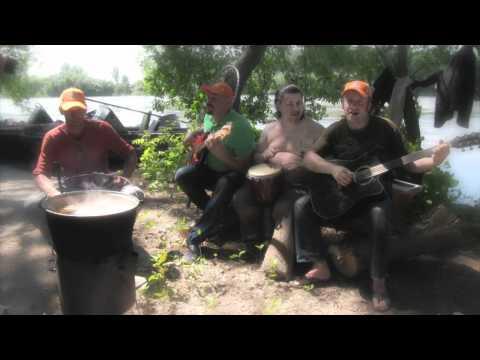"""Песня о рыбалке -группа """"Сибирские грибы""""."""