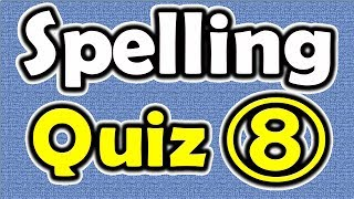 Spelling Quiz (8) [ ForB English Lesson ]