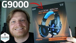 Kotion Each G9000 Gaming Headset Review - Mic Test