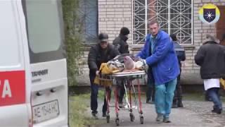В Никопольском городском суде прогремел взрыв, есть пострадавшие