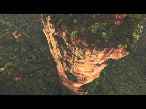 צאו לטיל עוצר נשימה בוולינגיואן: פלא הטבע שבמרכז סין
