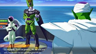 Dragon Ball FighterZ - Piccolo Gets Roasted By Cell & Frieza