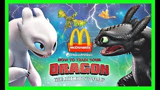 How To Train Your Dragon The Hidden World Mcdonalds Toys