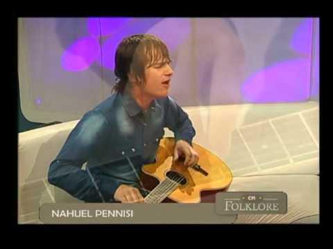 Nahuel Pennisi video Zamba para olvidar - CM Folklore 2016
