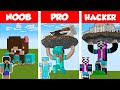 Minecraft NOOB vs PRO vs HACKER STATUE