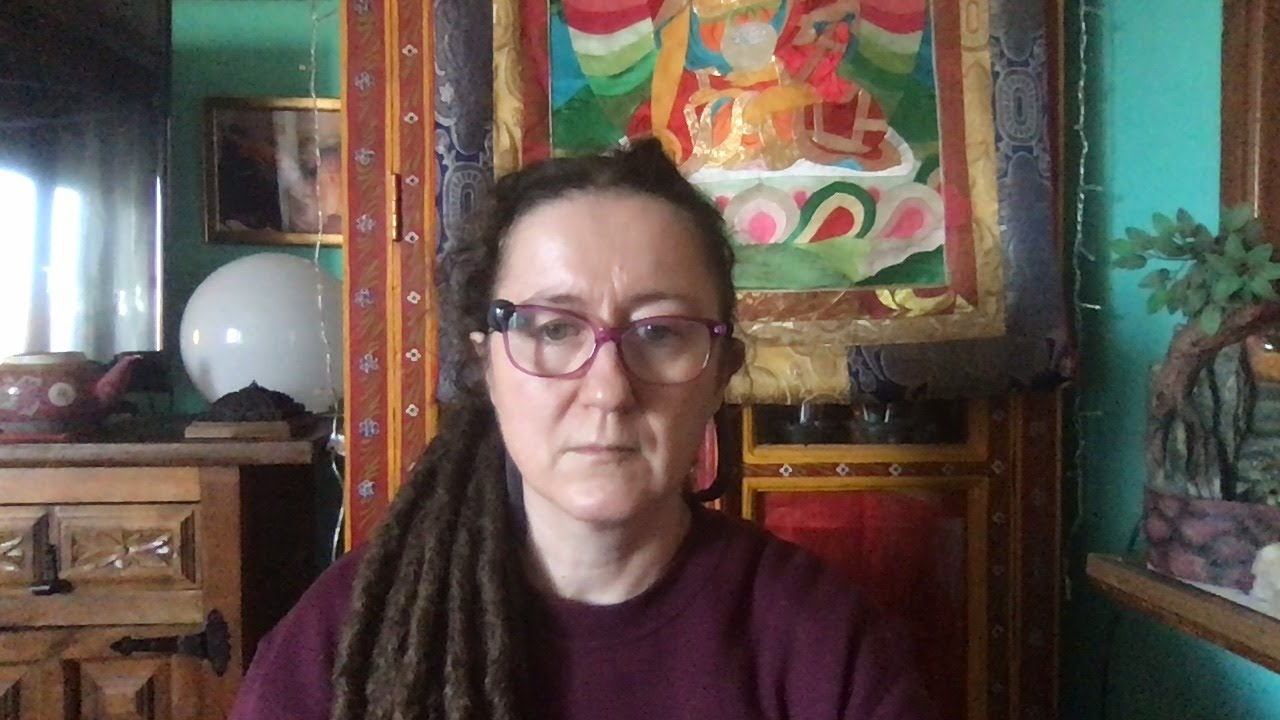 Lama Gangchen Tantric Self-Healing 2- Commentary by Lama Caroline - part 58 (EN) Mudras & Colours