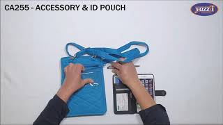 CA255 Accessory & ID Case | Light weight Travel Bag