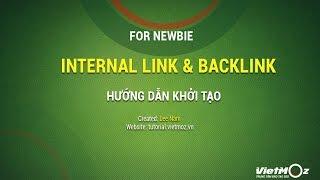 Tạo Internal Link và Backlink cho người mới học SEO