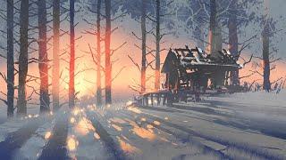 Musica Muy Relajante   Musica de Fondo Instrumental para Relajarse   Musica con Paisajes de Nieve