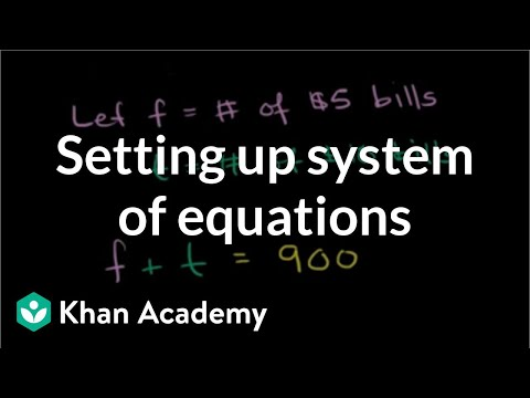 A thumbnail for: Systems of equations