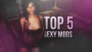 TOP 5 MODS Sexy - Skyrim (Xbox one/PC)