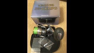 Shimano twin power 09 sw 4000 pg