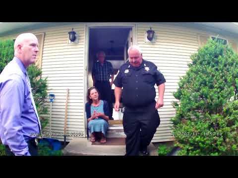 VIDEO: Death investigation — graphic language