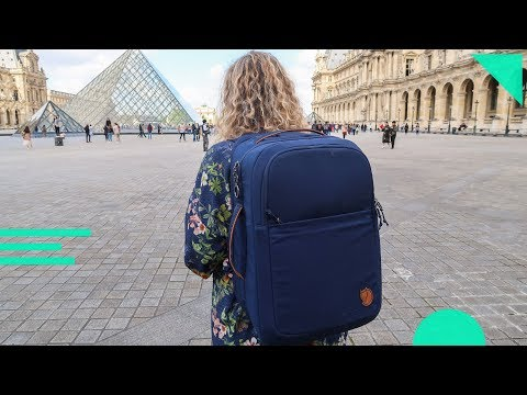 Fjallraven Travel Pack Review | 35L Carry-On Clamshell Backpack For Traveling
