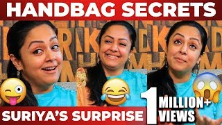 Suriya's Surprise & Jyotika's Handbag Secrets! | Semma Fun Interview | NPA 33