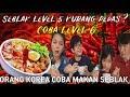 Keluarga Korea pertama kali makan Seblak - Kurang pedas Level 5 ? coba Level 6