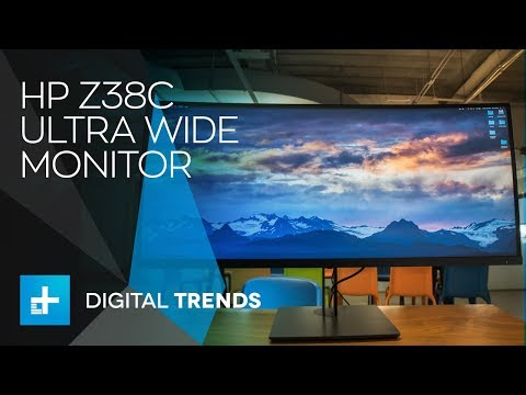 HP Z38c Ultra Wide Monitor - Hands On Review