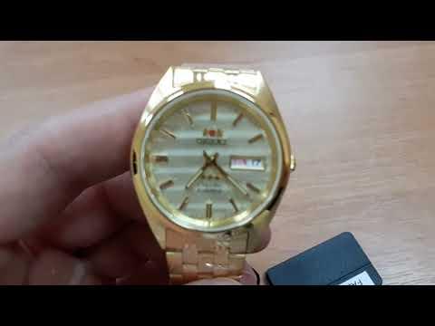 Мужские часы ORIENT FAB00008C9 Video #1