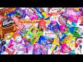 lots of candies chocolates ASMR mouth watering video