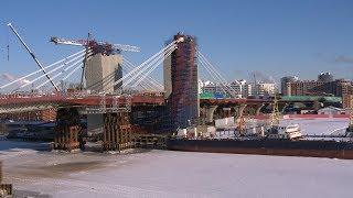 Мост в районе о. Серный