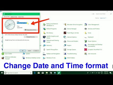 Download Windows 10 Change Time Zone Adjust Time And Date Video 3GP
