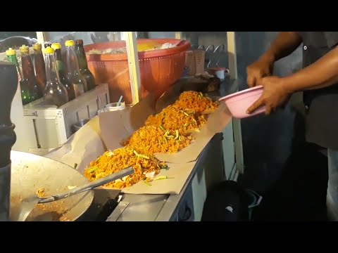 Indonesian Street Food Nasi Goreng Surabaya | Fried Rice | Kuliner