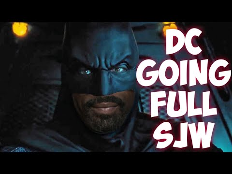 Batman MUST be a POC! DC Comics replacing all their Superheroes   MUST promote diversity