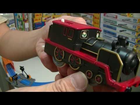 【vláček】Veselé vláčky CS-09 Chuggington Pete unboxing & zkušební jízda - vlakový model (00167 cz)