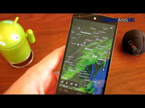 Yahoo Weather Android App Review
