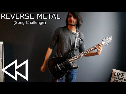 REVERSE METAL - A Metal Song That Sounds the Same Backwards