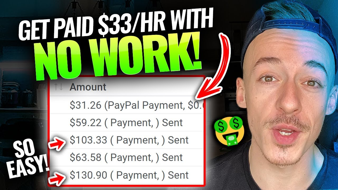 How To Make $33 PER HOUR Not Doing Anything (REAL APPROACH!)|Generate Income Online For Beginners thumbnail