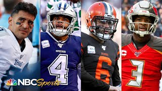 NFL Power Rankings: Can Baker Mayfield, Dak Prescott and other young QBs bounce back? | NBC Sports