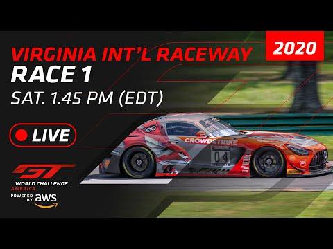 ブランパンGTワールドチャレンジ・アメリカ バージニア Race1 フルレース動画
