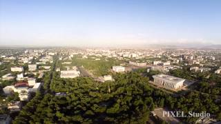 квадрокоптер Бишкек 2014 аэросъемка