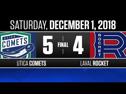 Comets vs. Rocket | Dec. 1, 2018