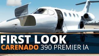 Carenado Citation 525A CJ2 Cold & Dark Start part 1 - Самые лучшие видео