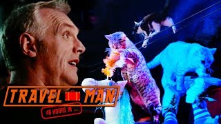 Greg Davies Loves The Cat Circus | 48hrs In...Moscow