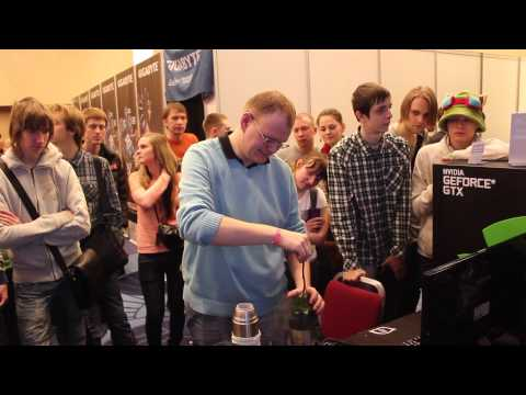 OGIC 2014: overclocking by Team Russia
