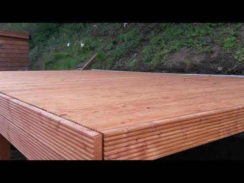 Holzterrasse Unterbau konstruieren - selber machen das macht Spaß und spart Geld